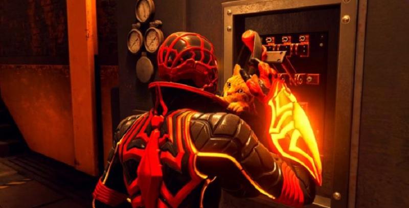 Spider man miles morals disfraz gato araña