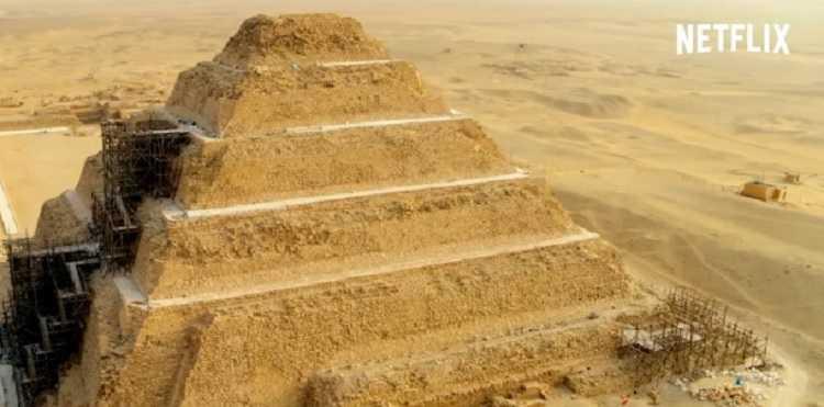 les secrets de la tombe de saqarrah netflix