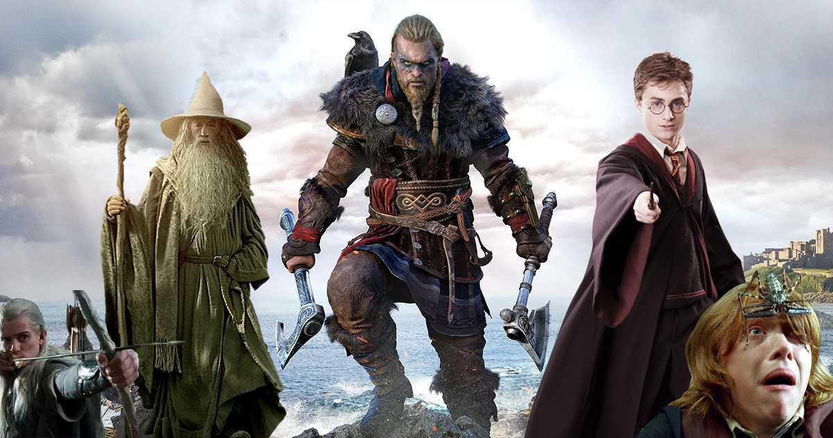 Assassin's Creed Valhalla: Harry Potter y el señor de los anillos referencias que no debes perderte