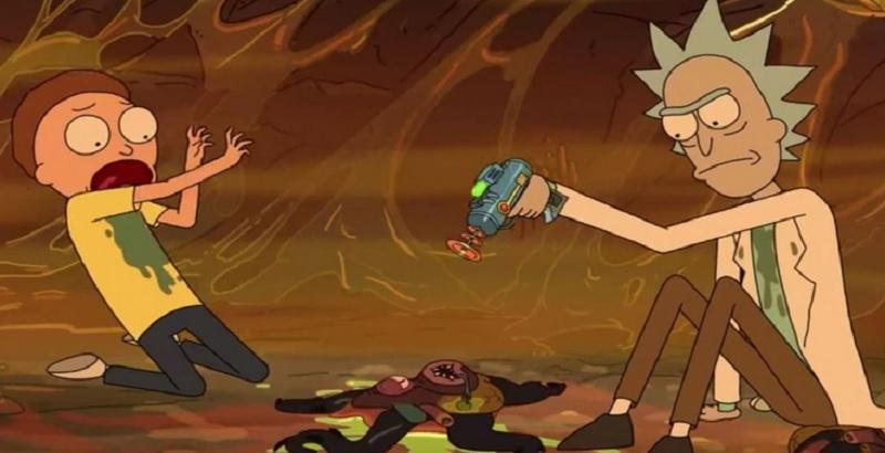Rick y Morty temporada 4 parte 2 hora