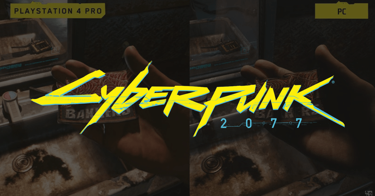 El camarógrafo de Cyberpunk 2077 compara las versiones de PS4 Pro y PC del juego