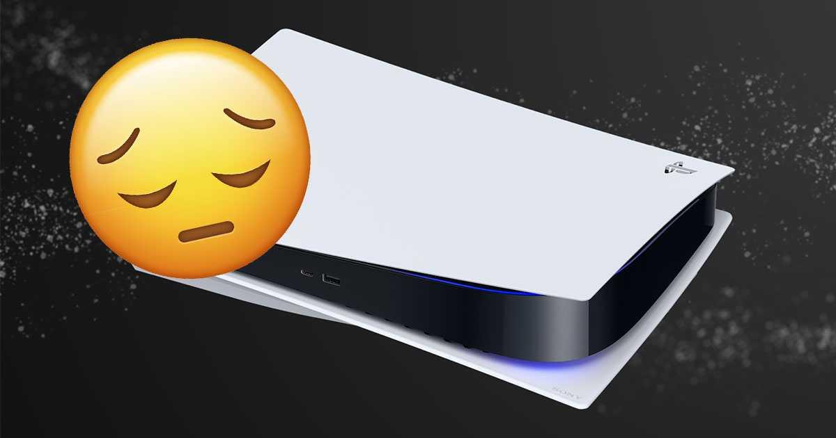 PS5: Sony hace un anuncio de inventario de PS5 que no le gustará