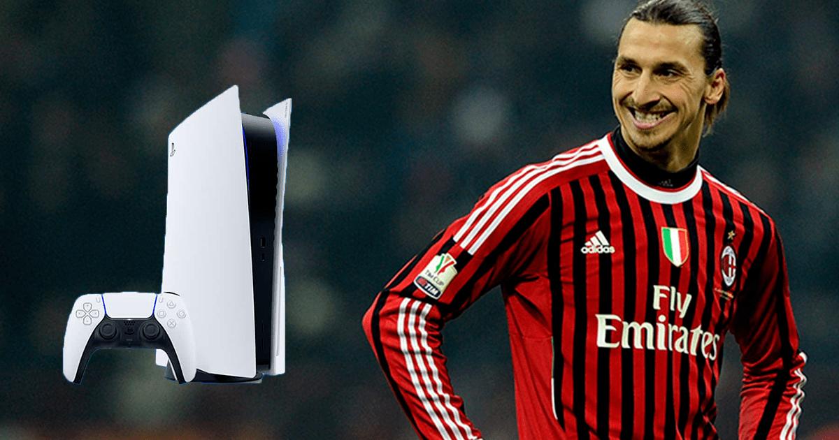 PlayStation 5: el futbolista Zlatan Ibrahimovic les da un bonito regalo a sus compañeros