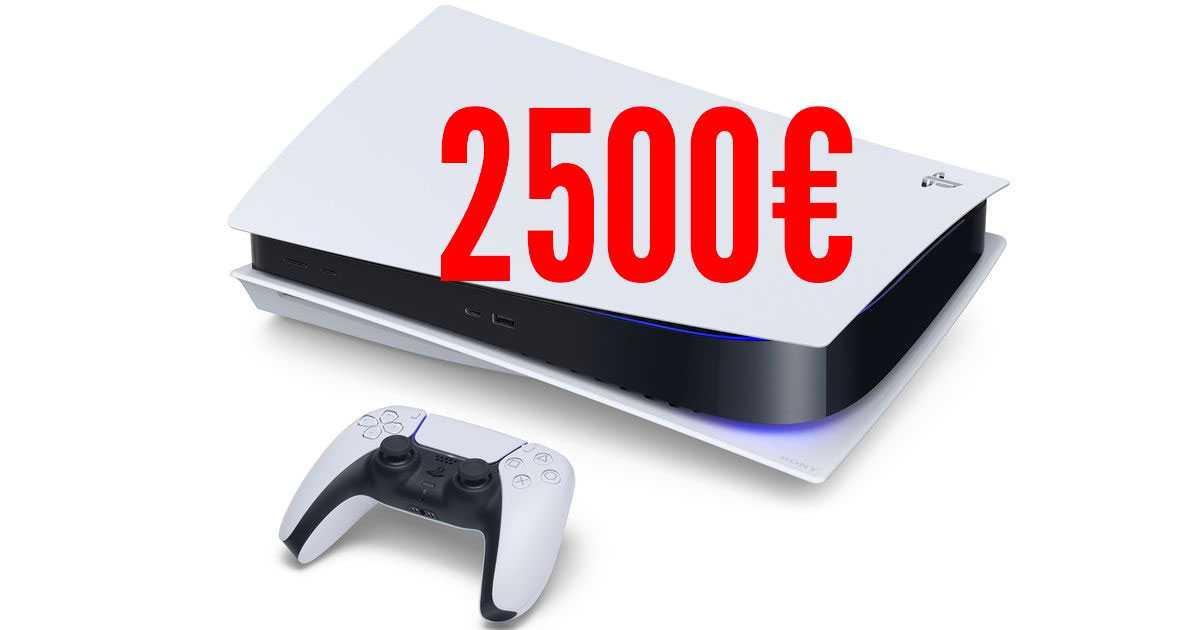 Playstation 5: los precios de la PS5 explotan y es escandaloso