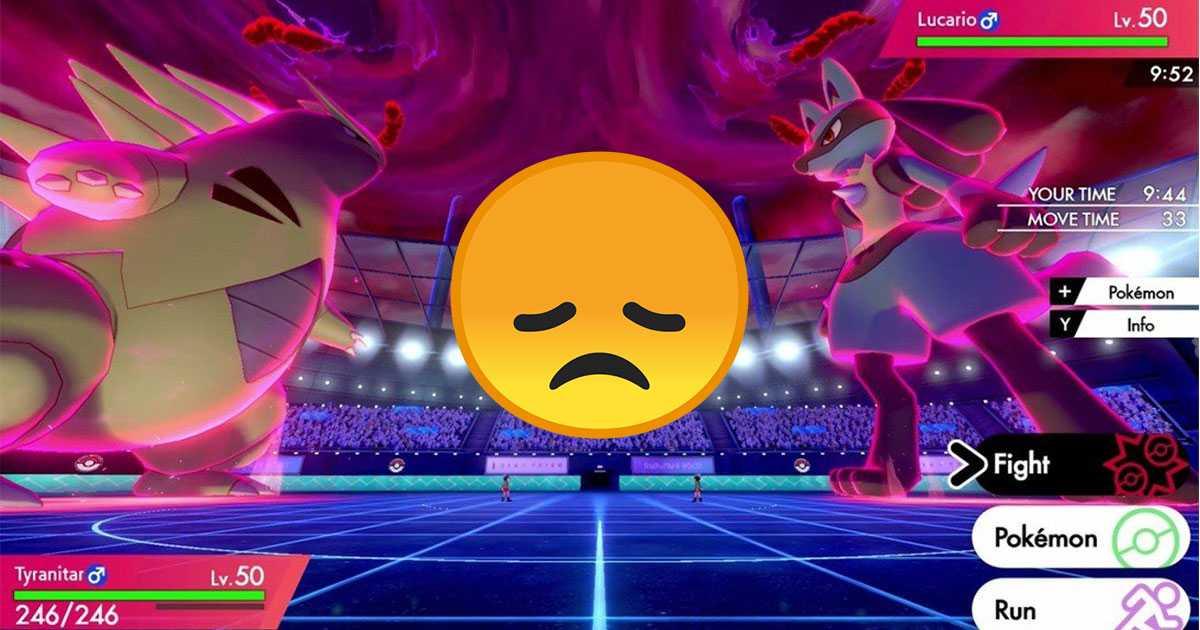 Pokémon Sword / Shield: los jugadores le ruegan a Game Freak que cambie las peleas por una razón obvia