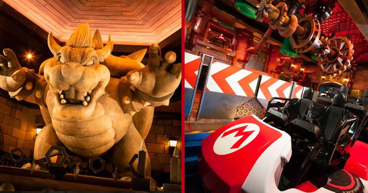 Super Nintendo World: nuevas fotos de la atracción de Mario Kart y dentro del parque