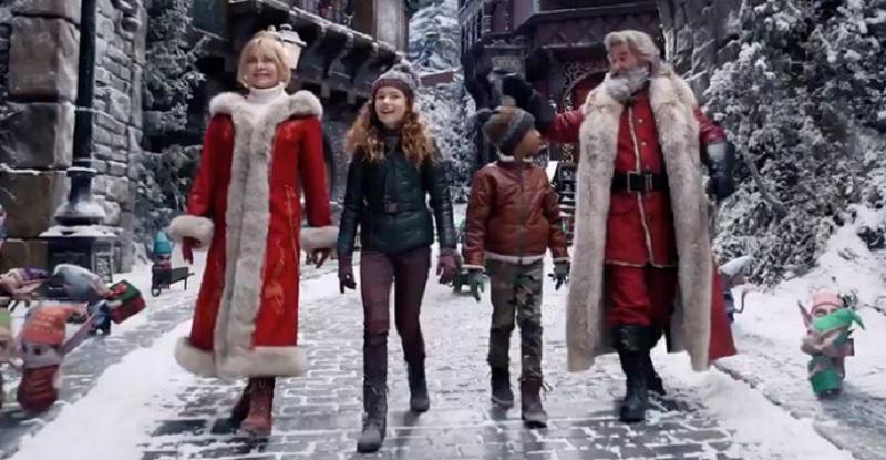 las crónicas de navidad 2 actores