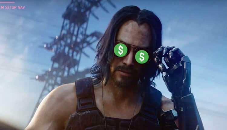 Cyberpunk 2077: aquí se explica cómo ganar casi 300.000 € en un día