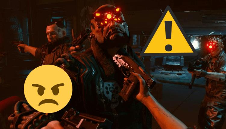 Cyberpunk 2077: un gran nuevo error que afecta a miles de personas pone furiosos a los jugadores