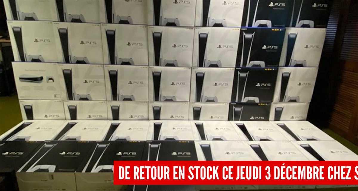PlayStation 5: desde stock a la venta este jueves, ¡te contamos dónde y cuándo comprarla!
