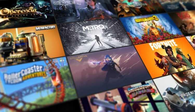 Tienda de juegos épicos: la lista de los próximos juegos ofrecidos acaba de filtrarse, ¡y es muy pesada!
