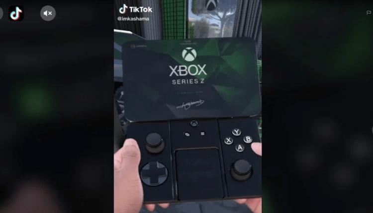 Xbox Series Z: este prototipo es un éxito en TikTok y te hace querer
