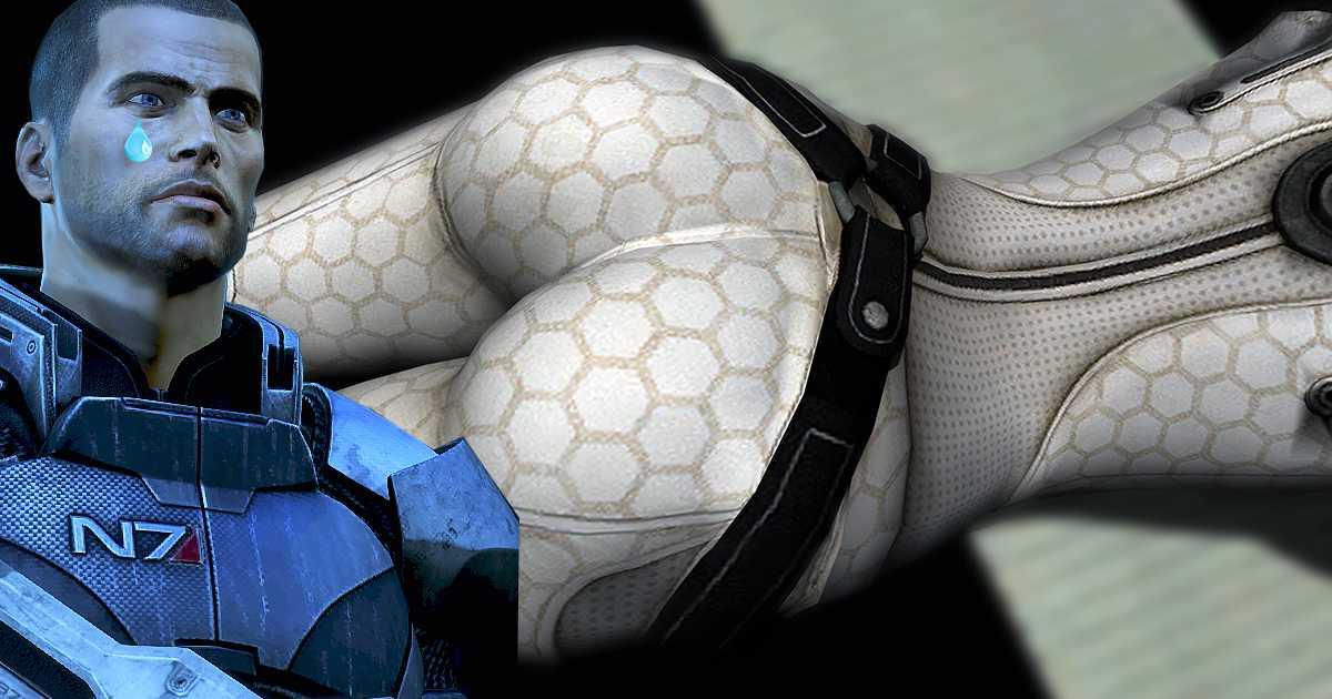 Mass Effect: la nueva versión elimina las nalgas en el juego
