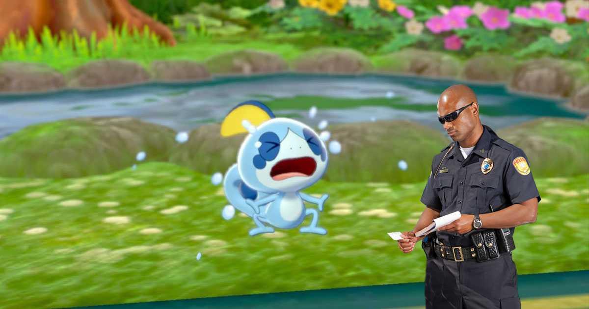 Pokémon Sword / Shield: un jugador arrestado por la policía por una razón muy específica