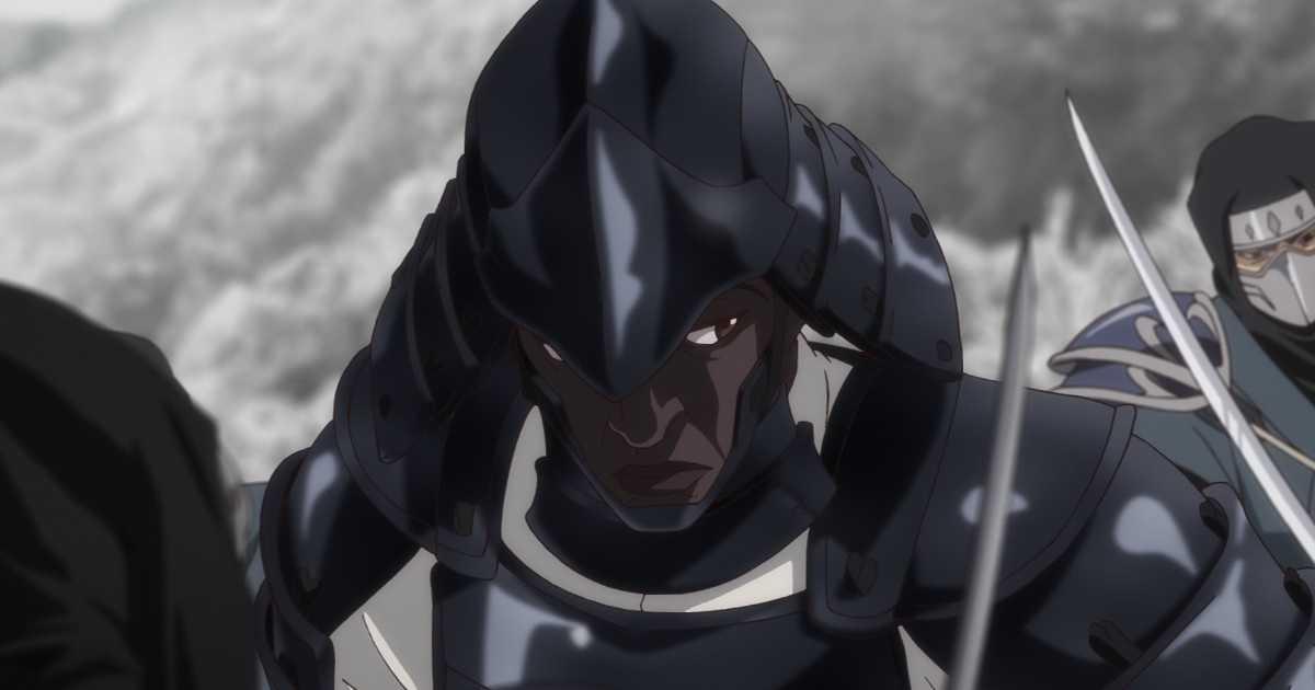 Netflix: un nuevo anime con un samurái negro anunciado por el estudio detrás de Jujutsu Kaisen