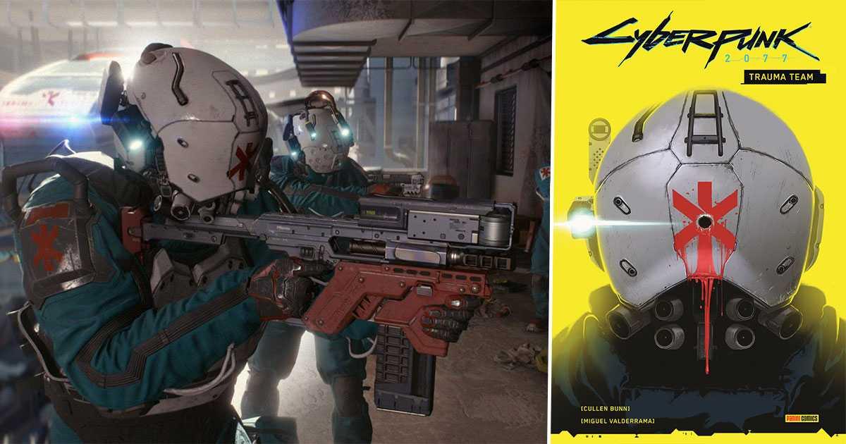 Cyberpunk 2077 Trauma Team: sumérgete en el corazón de Night City en este trabajo explosivo