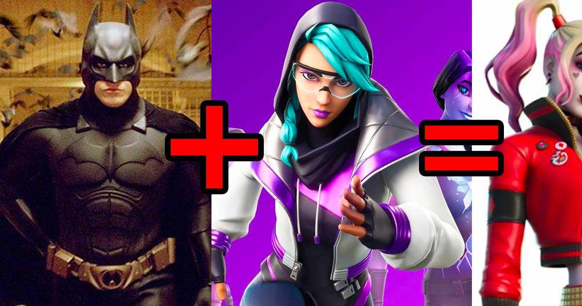 DC lanza las primeras imágenes del crossover entre Batman y Fortnite