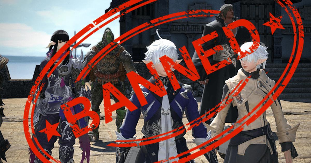 Final Fantasy XIV: Square Enix prohíbe a más de 5,000 jugadores por actividades ilegales