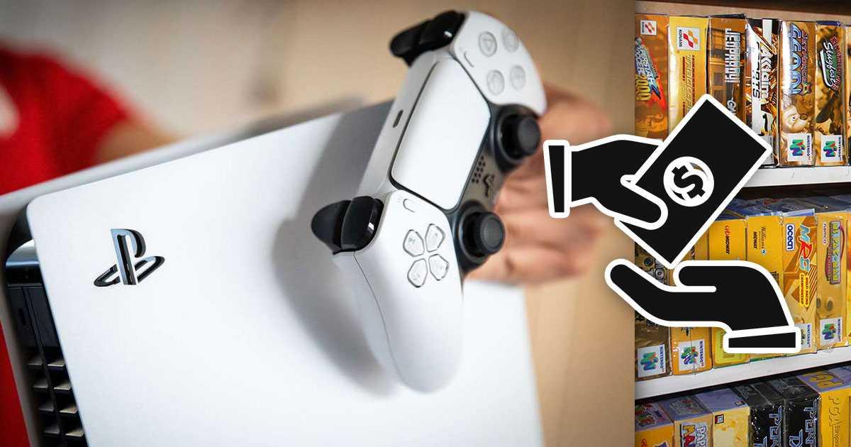 PS5: revende su consola para comprar una colección muy especial