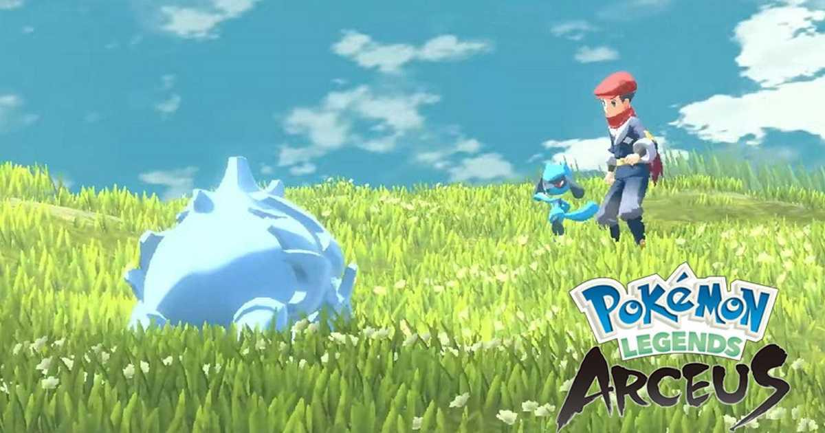Pokémon Arceus Legends: filtraciones comparten nueva información crujiente
