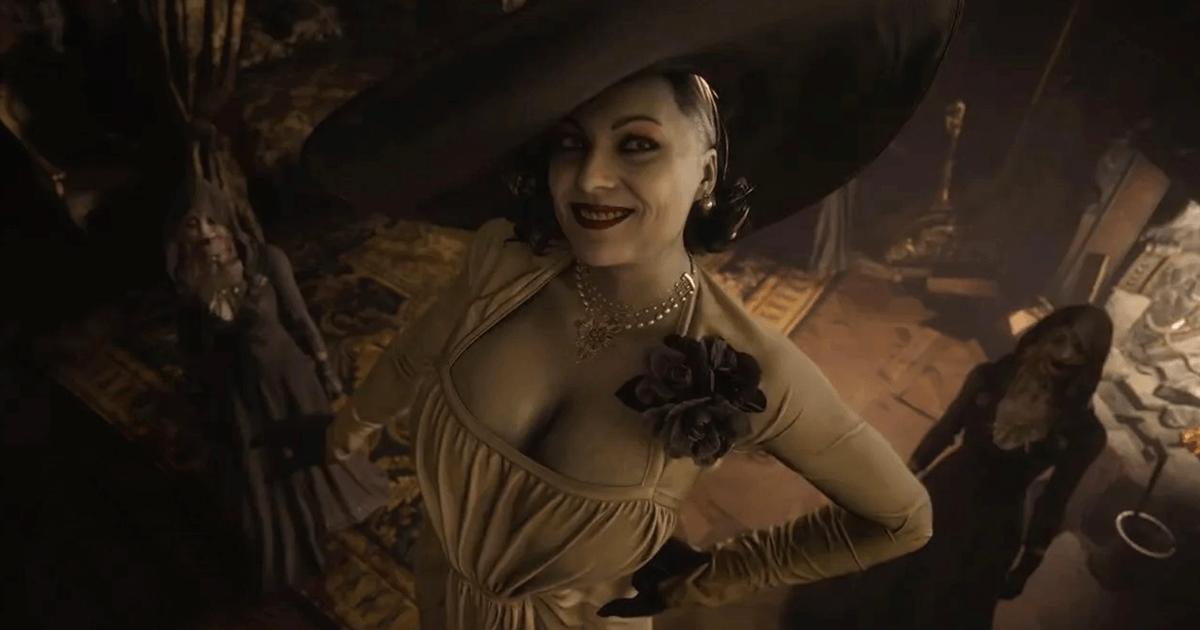 Resident Evil Village: la modelo más alta del mundo realiza un cosplay de Lady Dimitrescu alucinante