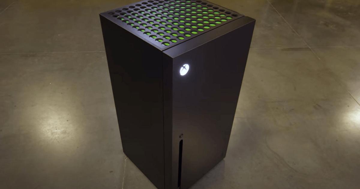 Xbox Series X: es oficial, los mini-frigoríficos estarán bien comercializados