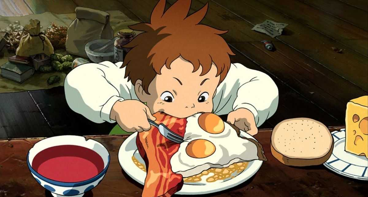 Studio Ghibli revela el secreto detrás de sus platos increíblemente deliciosos
