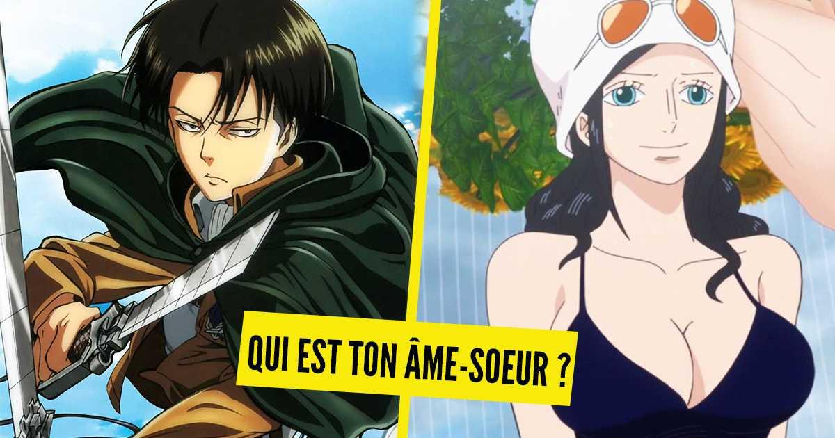 Test de personalidad: ¿Qué personaje de anime es tu alma gemela?
