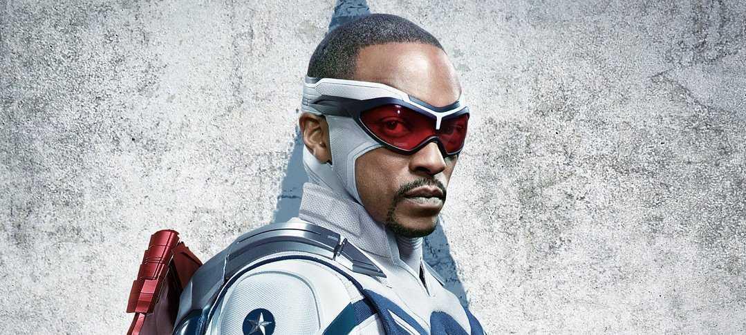 Falcon and the Winter Soldier: Sam se revela a sí mismo como el Capitán América (Póster)