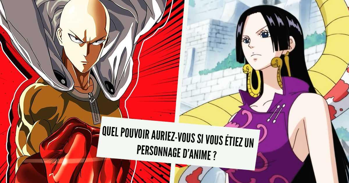 Test de personalidad: ¿que poder tendrías si fueras un personaje de anime?