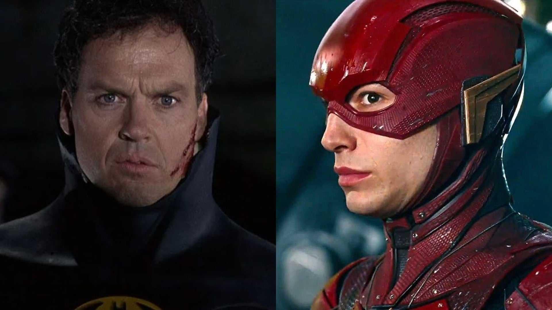 The Flash The Film: Michael Keaton confirmado en Batman y se dio a conocer el logo animado de la película