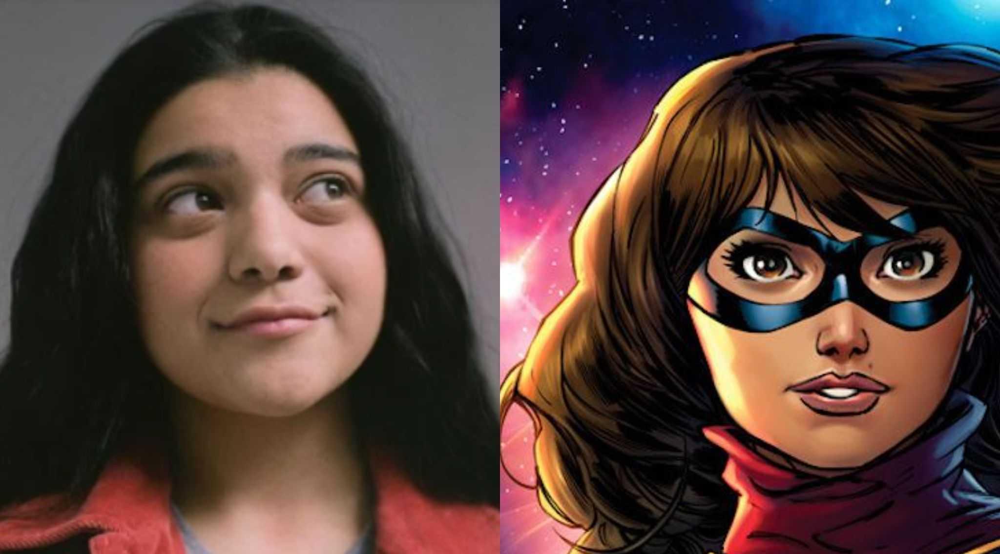 Ms Marvel: Iman Vellani disfrazado en el set de la serie (fotos)