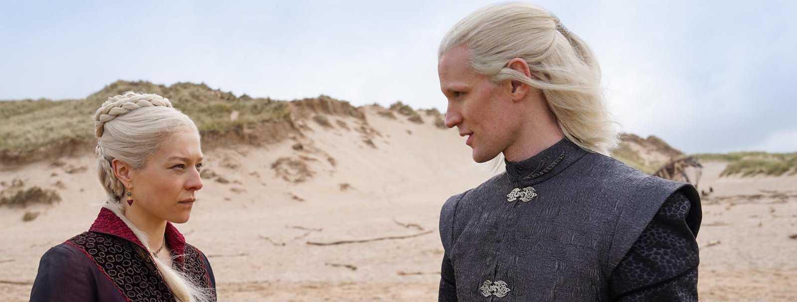 House of the Dragon: primeras imágenes de la serie precuela de Game of Thrones