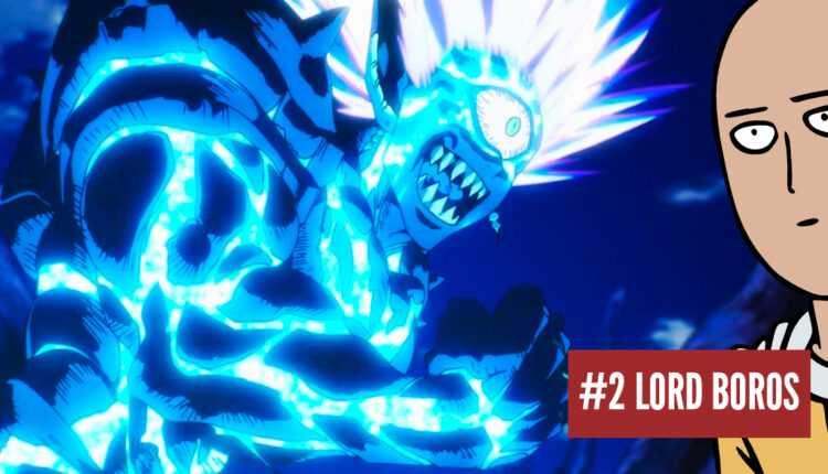 One-Punch Man: los 10 mejores villanos encontrados por Saitama