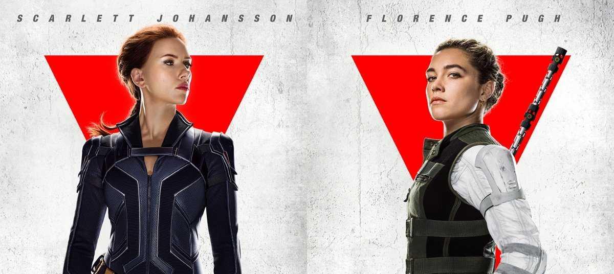 Black Widow: nuevos pósters de personajes