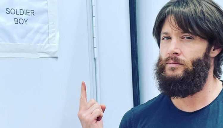 The Boys temporada 3: Jensen Ackles revela su barba de niño soldado