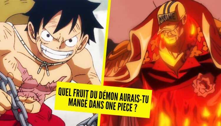 Test de personalidad: ¿que fruta del diablo habrías comido en One Piece?
