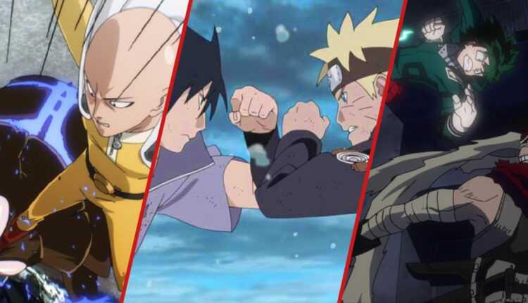 Naruto, Hunter X Hunter, Bleach ...: estos 15 animes de acción son los favoritos de los fans