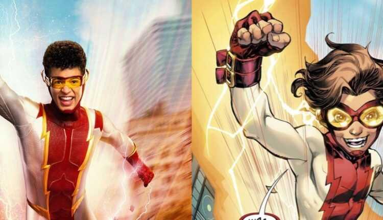 The Flash: primer vistazo a Jordan Fisher en Impulse inspirado en los cómics