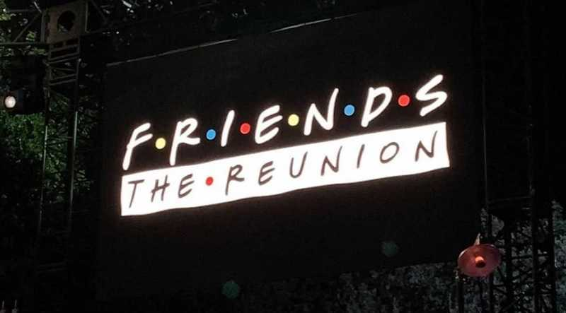 friends the reunion heure