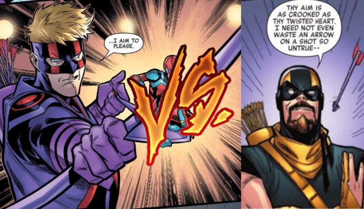 Marvel revela la divertida pelea entre Hawkeye y su versión de Green Arrow
