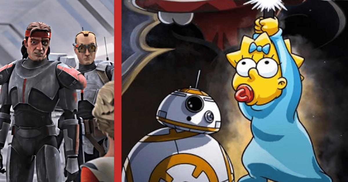 4 de mayo: episodio especial de Los Simpson, Bad Batch ... descubre el programa del Día de Star Wars en Disney +