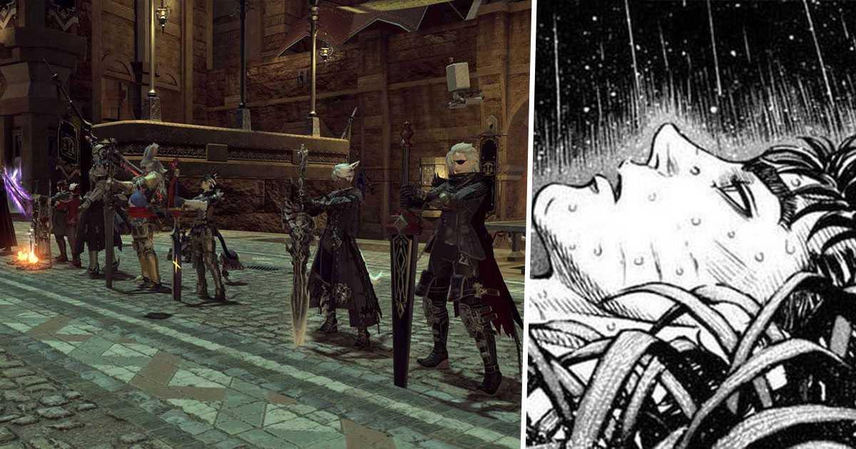Final Fantasy XIV: los jugadores rinden homenaje a Kentaro Miura (Berserk) de una manera conmovedora