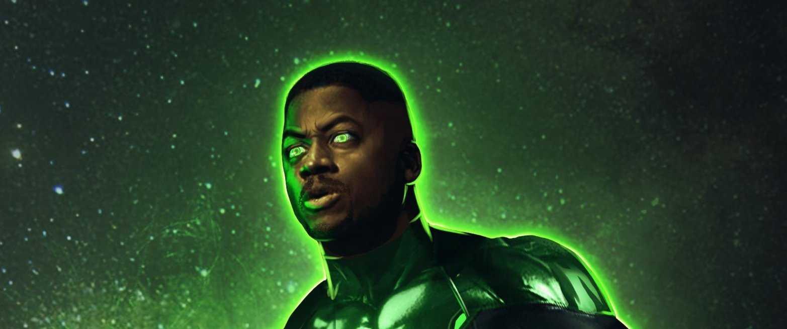 La Liga de la Justicia de Zack Snyder: Imagen invisible de Green Lantern