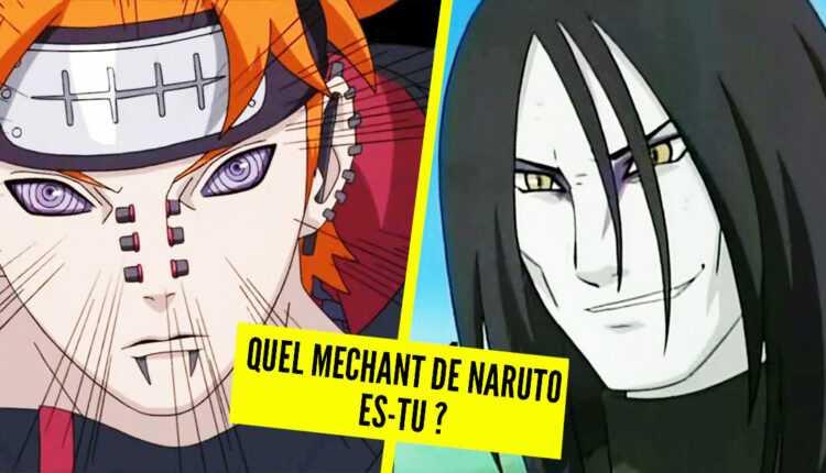 Test de personalidad: ¿que villano de Naruto eres?