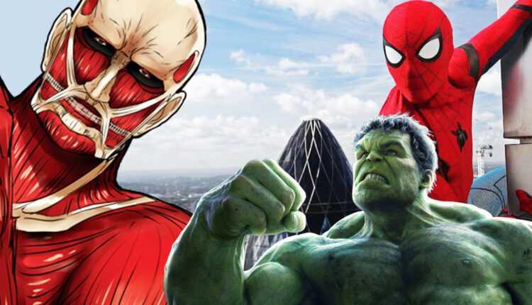 Attack on Titan: este increíble cruce entre SNK y Marvel's Avengers que no conoces