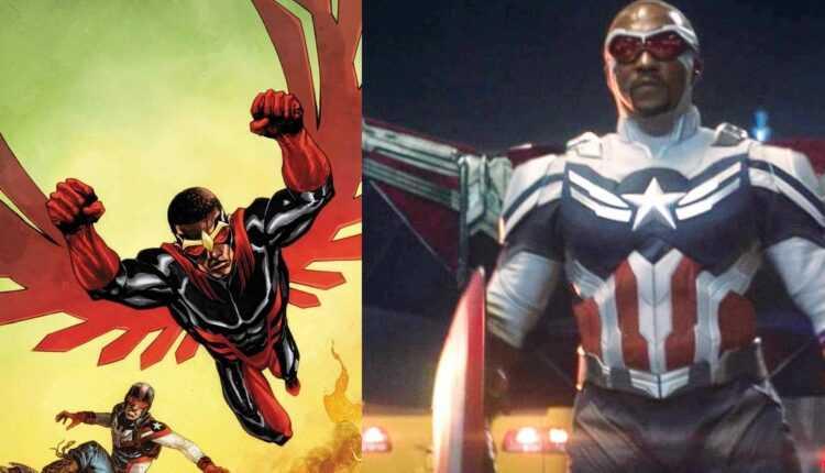 Un fan de Marvel recreó este disfraz de Falcon Sam Wilson 100% funcional