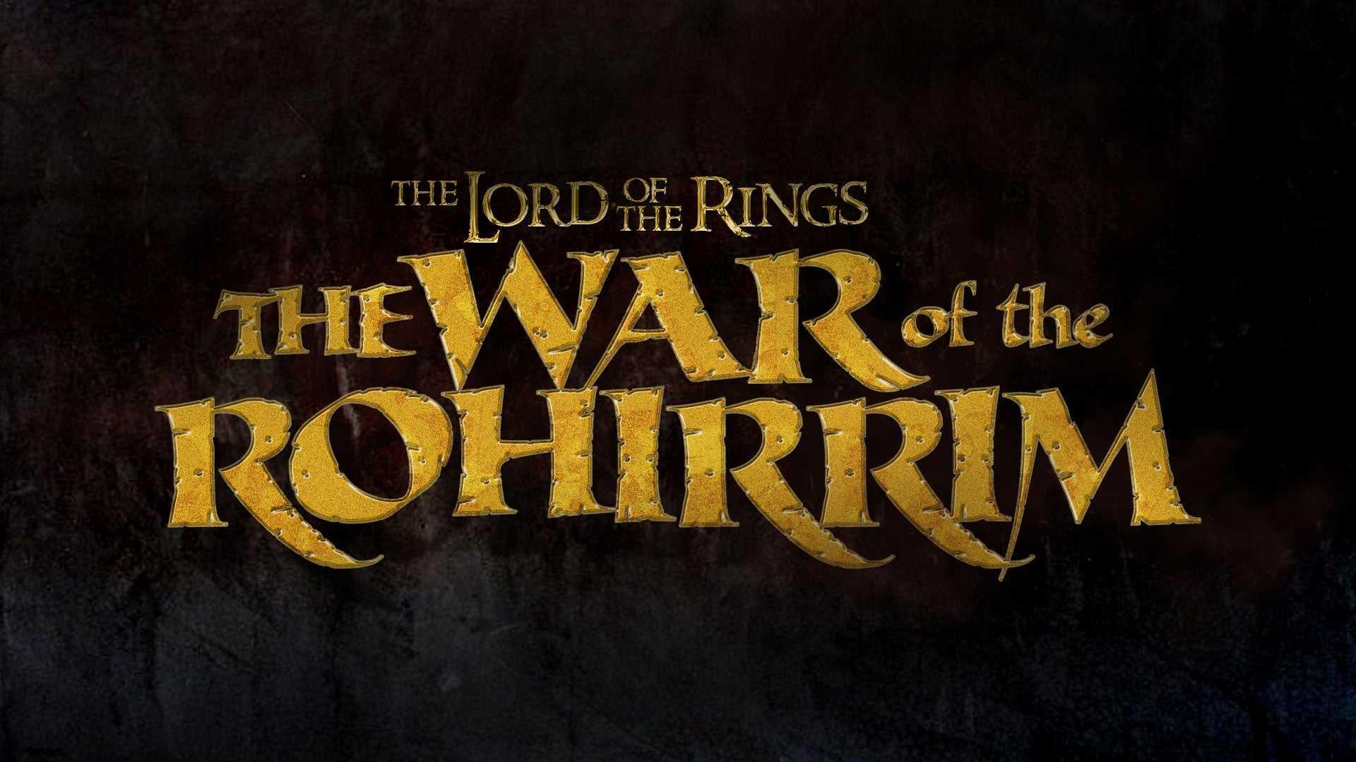 El señor de los anillos: una precuela animada sobre los Rohirrim en proceso