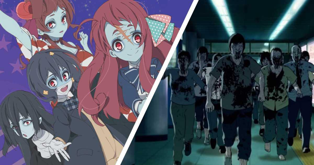 10 animes para ver con urgencia si eres fanático de los zombies