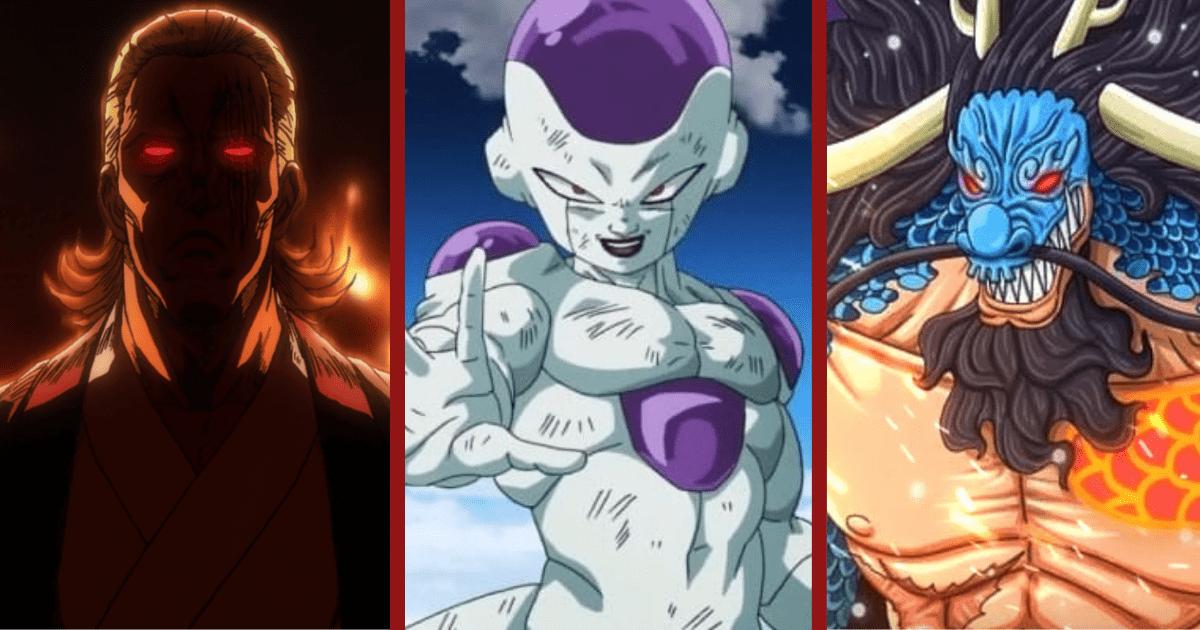 Estos 15 personajes de anime son, con mucho, los más temidos